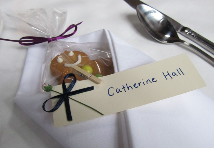 The brides ginger bread wedding favour
